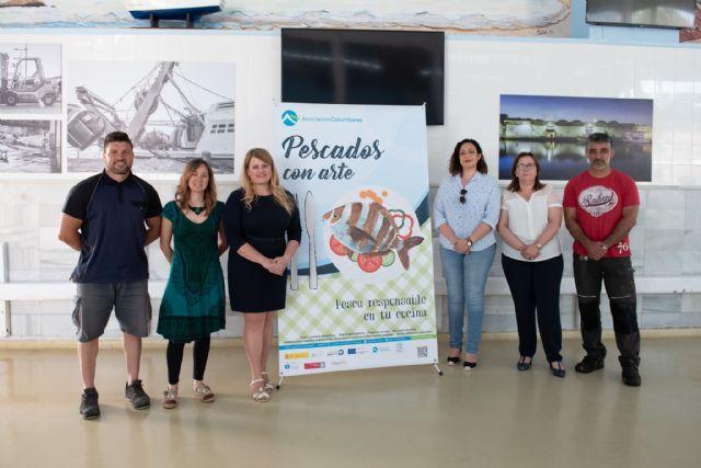 Comienza en Mazarrón la campaña pescados con arte - 1, Foto 1