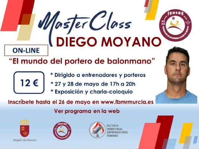 La Federación de Balonmano de la Región de Murcia lanza un ciclo de master class on-line - 1, Foto 1