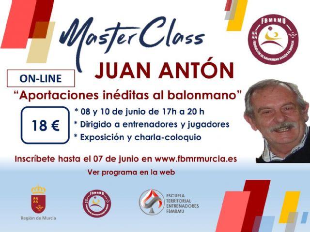 La Federación de Balonmano de la Región de Murcia lanza un ciclo de master class on-line - 2, Foto 2
