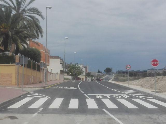 El Ayuntamiento de Molina de Segura abre al tráfico hoy lunes 25 de mayo la segunda fase de la Ronda Este, con una inversión de 154.185,48 euros - 1, Foto 1