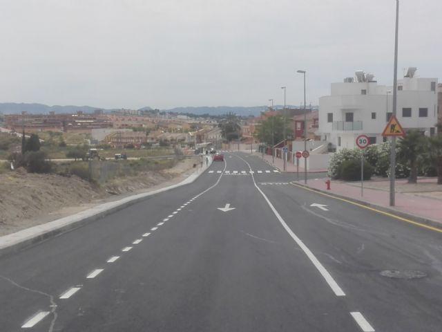 El Ayuntamiento de Molina de Segura abre al tráfico hoy lunes 25 de mayo la segunda fase de la Ronda Este, con una inversión de 154.185,48 euros - 3, Foto 3