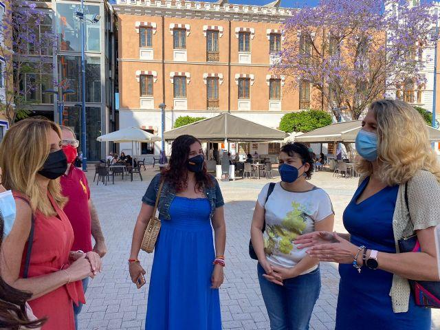 El Partido Popular reclama la continuidad del Mercado Mixtura, un proyecto social impulsado por los vecinos del Carmen - 2, Foto 2