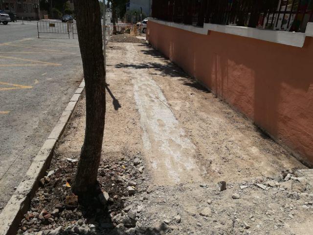 Adecuación de aceras Avda. Luis de los Reyes como itinerario peatonal accesible - 2, Foto 2