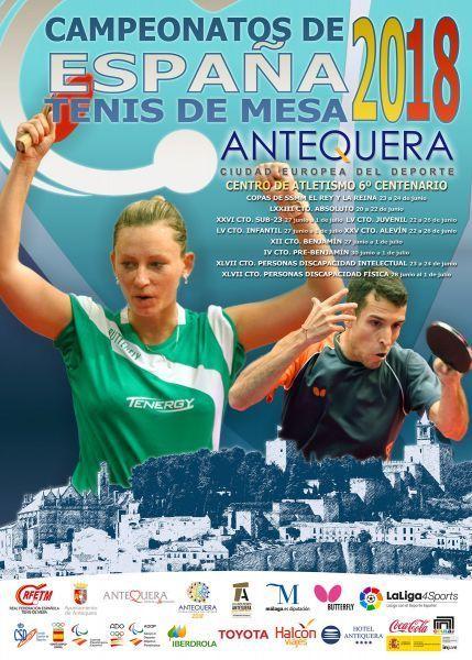Tenis de mesa. Campeonatos de España