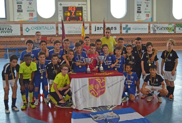 Futsal Paulo Roberto gana el Torneo de Fútbol Sala Copa Federación Benjamín - 1, Foto 1