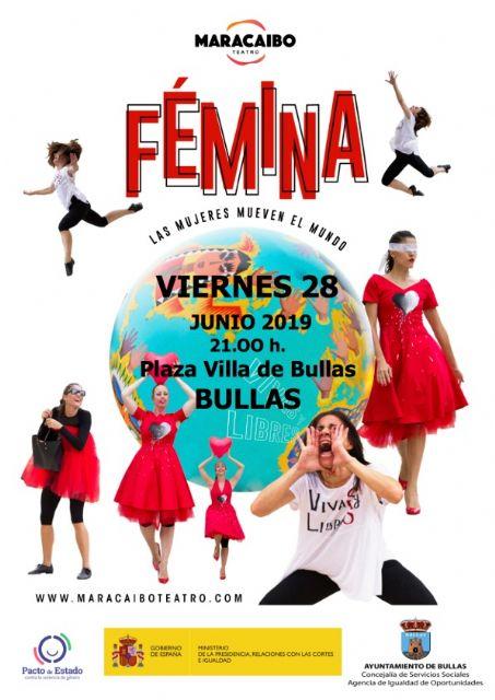 Teatro 'Fémina. Las mujeres mueven el mundo' - 1, Foto 1