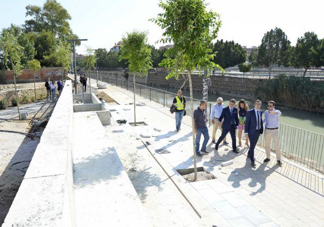 Los trabajos en el paseo fluvial ´Murcia Río´ encaran su recta final - 3, Foto 3