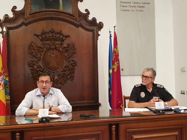 La Policía Local de Lorca ha identificado, durante el estado de alarma, a un total de 12.543 personas y de 27.191 vehículos - 1, Foto 1