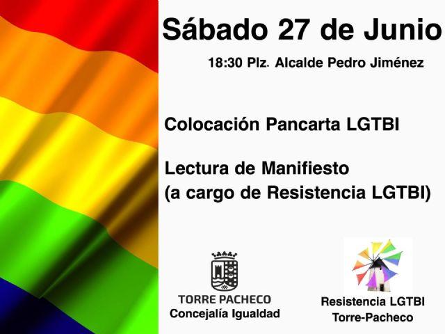 Torre Pacheco se suma a la celebración del Día Internacional del Orgullo LGTBI - 1, Foto 1