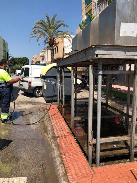 Los 35 contenedores soterrados de Las Torres de Cotillas pasan su revisión anual - 1, Foto 1
