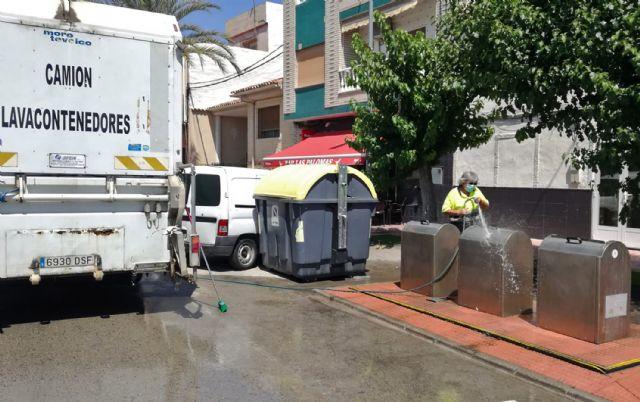 Los 35 contenedores soterrados de Las Torres de Cotillas pasan su revisión anual - 2, Foto 2