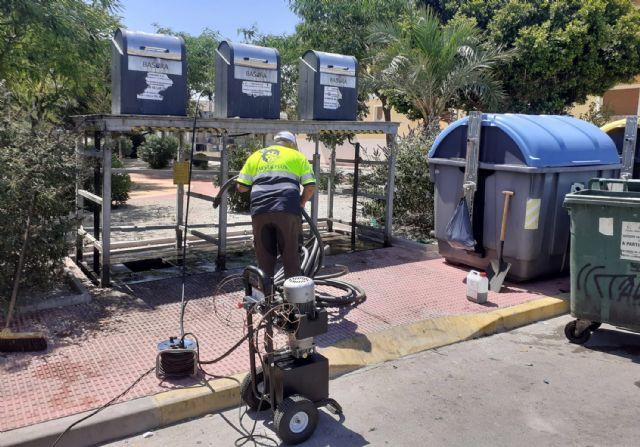 Los 35 contenedores soterrados de Las Torres de Cotillas pasan su revisión anual - 3, Foto 3