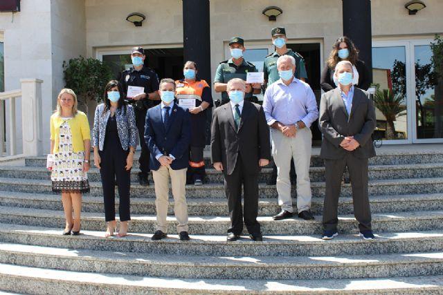 El Ayuntamiento de Lorquí reconoce la labor y buena gestión a distintos colectivos durante la crisis sanitaria acontecida por COVID - 1, Foto 1