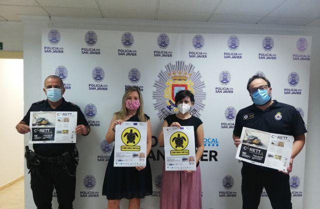 San Javier se suma a la campaña Territorio Tortuga para la preservación de la tortuga boba - 1, Foto 1