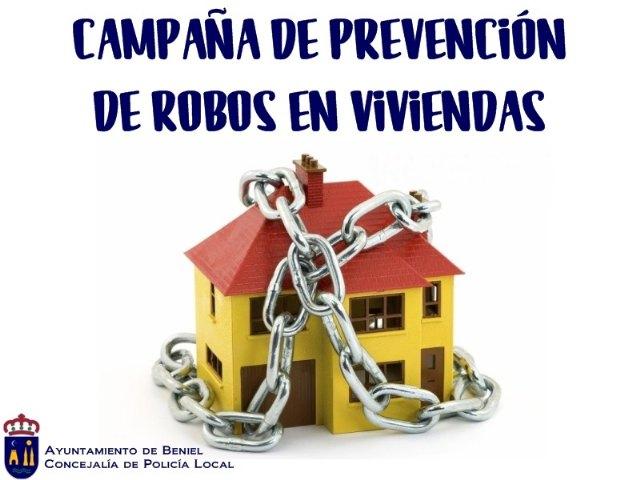 El Ayuntamiento desarrolla una nueva campaña de prevención de robos en viviendas - 1, Foto 1