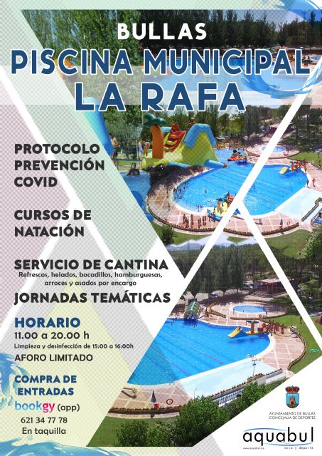 La Piscina Municipal de La Rafa abrirá sus puertas este próximo Sábado 27 de Junio - 1, Foto 1