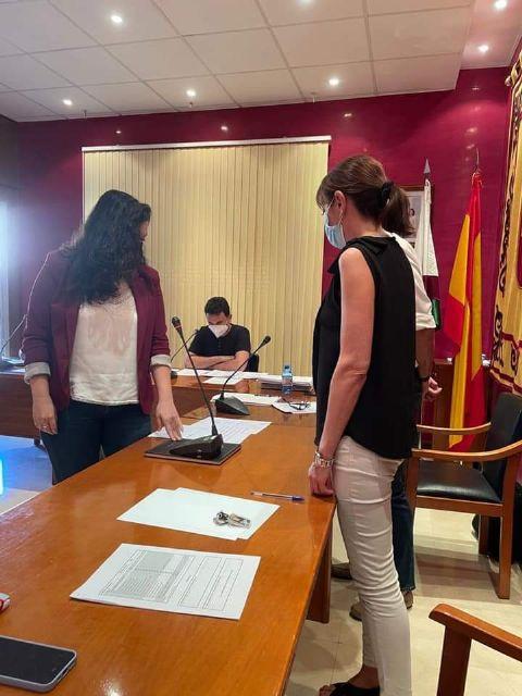 María Espín toma posesión como concejala en el Ayuntamiento de Bullas - 3, Foto 3