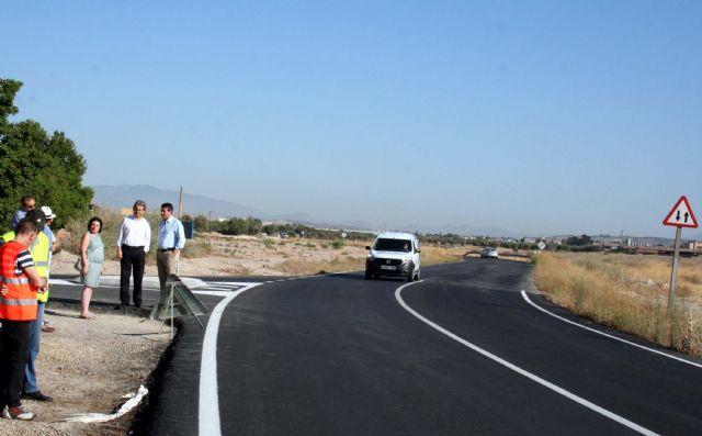 Eliminado un grave problema para el tráfico rodado y peatonal, en la carretera RM-E4, - 1, Foto 1