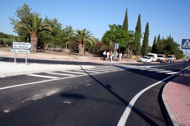 Eliminado un grave problema para el tráfico rodado y peatonal, en la carretera RM-E4, - 3, Foto 3