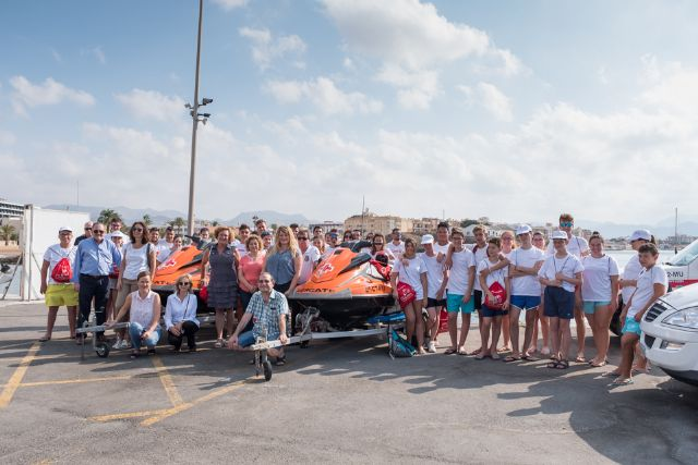 Dos nuevas motos de agua refuerzan el operativo de salvamento que presta Cruz Roja en las playas de Mazarrón, Foto 3