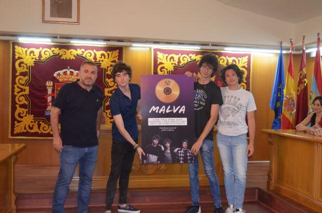 Alguazas reconoce el talento del grupo musical Malva - 1, Foto 1