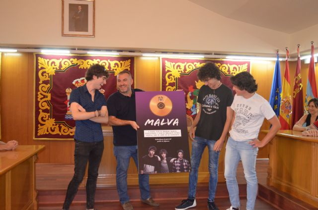 Alguazas reconoce el talento del grupo musical Malva - 2, Foto 2
