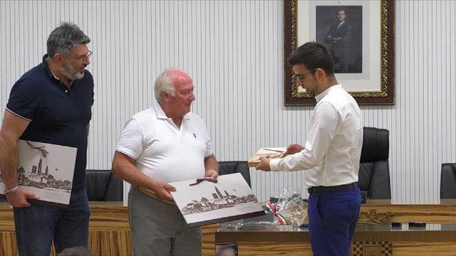 El Alcalde y miembros de la Corporación Municipal recibieron al Corpo Bandistico di Colognola ai Coli de Italia y a la Asociación Amigos de la Música - 2, Foto 2