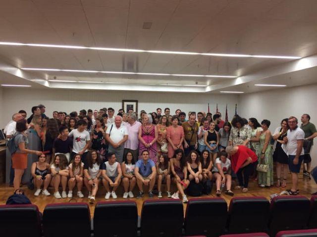 El Alcalde y miembros de la Corporación Municipal recibieron al Corpo Bandistico di Colognola ai Coli de Italia y a la Asociación Amigos de la Música - 3, Foto 3