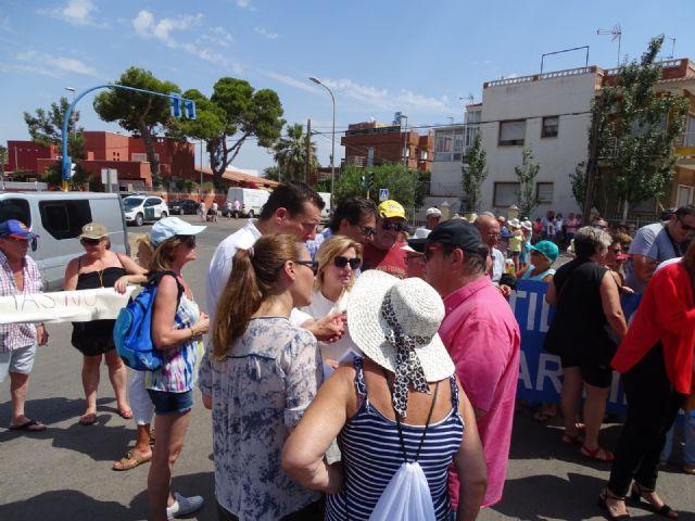El PSOE exige en la Asamblea Regional un plan de actuación urgente en Los Urrutias, El Carmolí, Estrella de Mar y Punta Brava - 1, Foto 1