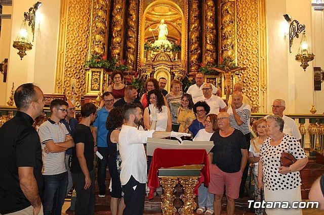 The Musical Manuscript discovered in the summer of 2017 in the parish of Santiago El Mayor is presented, Foto 2