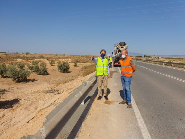 Fomento recupera la seguridad de seis carreteras regionales afectadas por la Dana que discurren por Torre Pacheco - 1, Foto 1