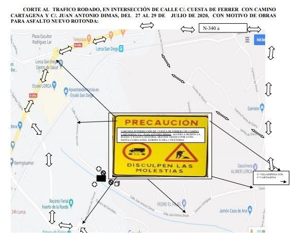 La Policía Local de Lorca establece medidas especiales de circulación - 1, Foto 1