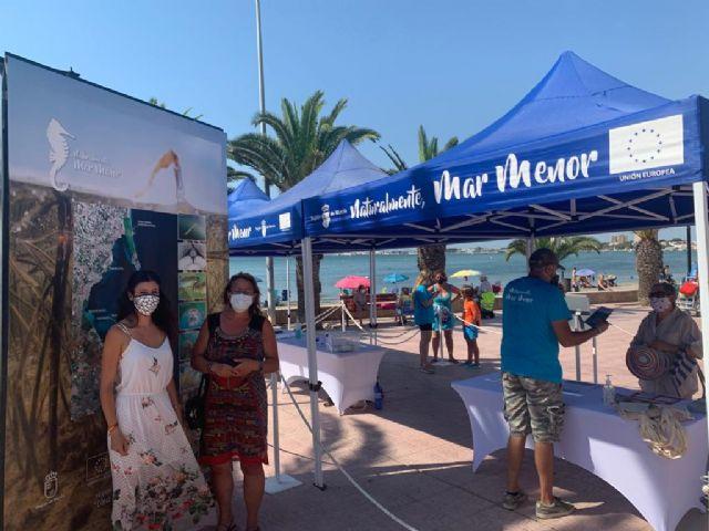 La campaña de sensibilización ambiental Mar Menor 2020 llega a Lo Pagán - 1, Foto 1