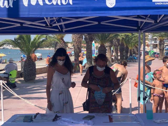 La campaña de sensibilización ambiental Mar Menor 2020 llega a Lo Pagán - 2, Foto 2