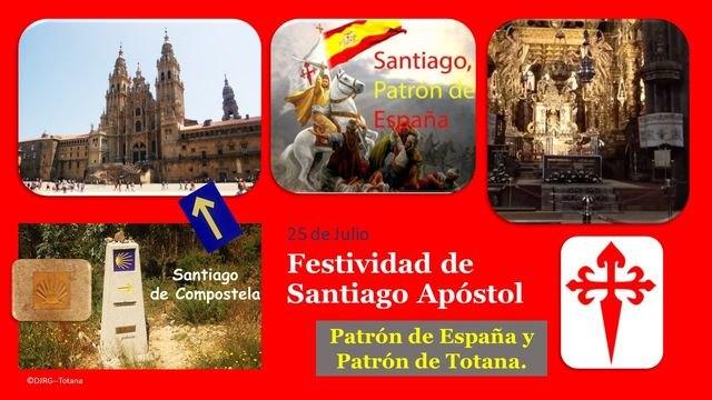 Solemnidad de Santiago Apóstol, Patrón de España y Patrón de Totana, Foto 2