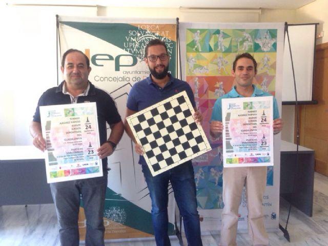 El ajedrez se convierte en uno de los grandes protagonistas de la XXXVIII edición de los Juegos Deportivos del Guadalentín de la mano del Club Ajedrez Lorca - 1, Foto 1