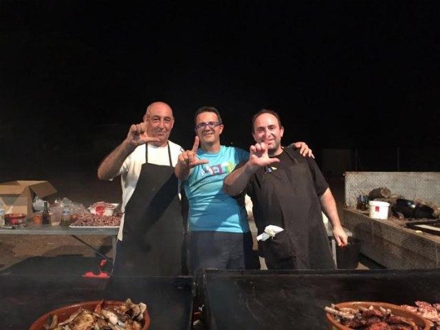 Numerosas personas disfrutaron de las fiestas de La Paloma, solidarias con D´Genes, Foto 1