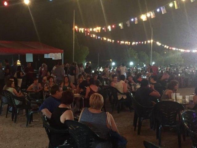 Numerosas personas disfrutaron de las fiestas de La Paloma, solidarias con D´Genes, Foto 2
