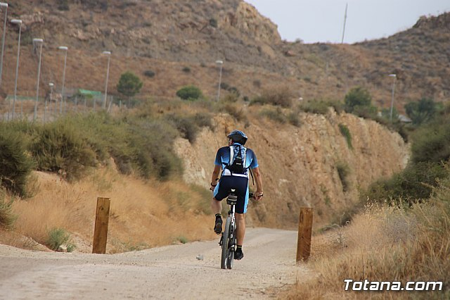 The new Totana-Cartagena Greenway has already become a first-class sporting and tourist attraction this summer