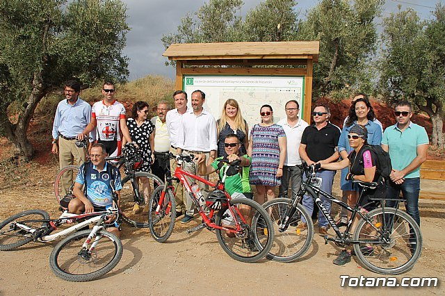 The new Totana-Cartagena Greenway has already become a first-class sporting and tourist attraction this summer, Foto 2