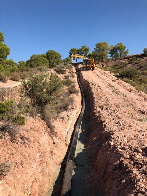 Ejecutan obras que optimizarán y darán solución al abastecimiento en el Polígono Industrial y la Pedanía de La Ñorica, Foto 2