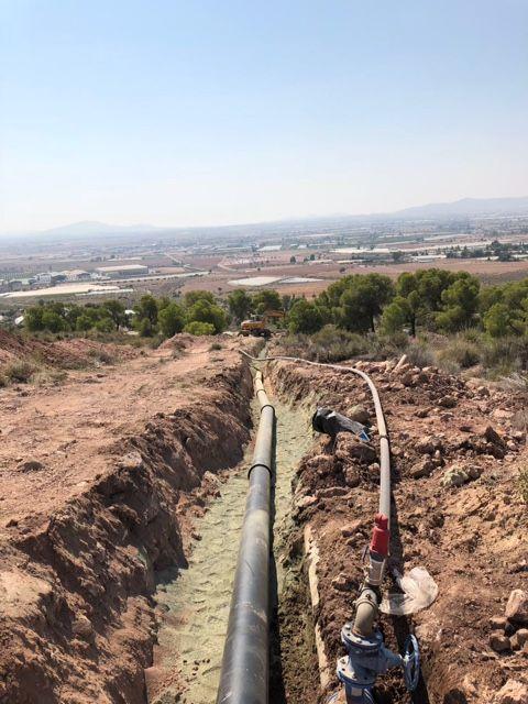 Ejecutan obras que optimizarán y darán solución al abastecimiento en el Polígono Industrial y la Pedanía de La Ñorica, Foto 3