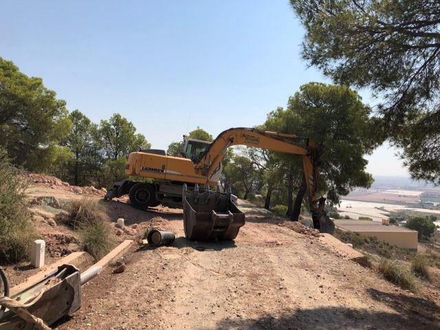 Ejecutan obras que optimizarán y darán solución al abastecimiento en el Polígono Industrial y la Pedanía de La Ñorica, Foto 5