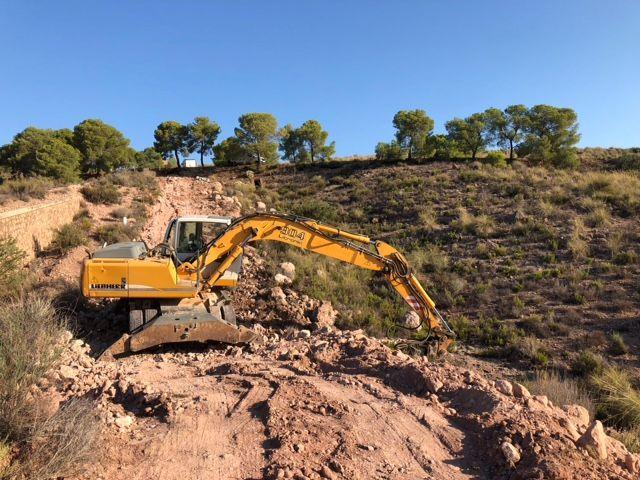 Ejecutan obras que optimizarán y darán solución al abastecimiento en el Polígono Industrial y la Pedanía de La Ñorica, Foto 6