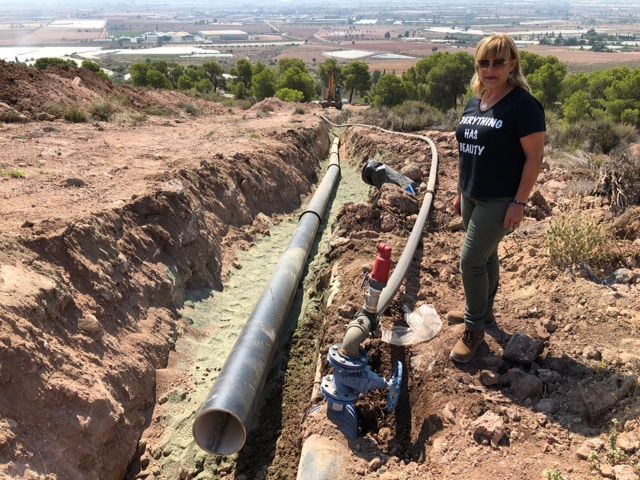 Ejecutan obras que optimizarán y darán solución al abastecimiento en el Polígono Industrial y la Pedanía de La Ñorica, Foto 7