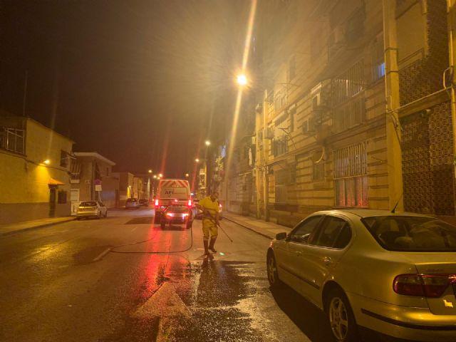 El Barrio de Vistabella mejora sus señales de tráfico con tratamiento de hidrolimpieza - 2, Foto 2