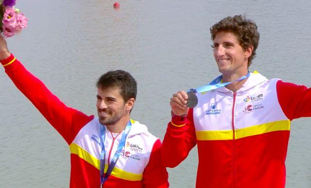 Dos medallas de plata y dos plazas olímpicas más para los palistas UCAM - 1, Foto 1