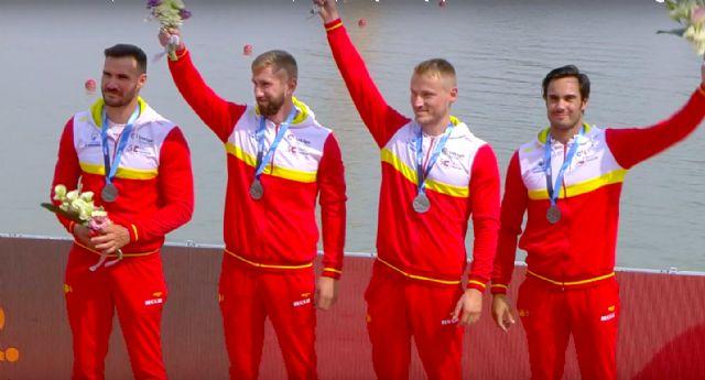 Dos medallas de plata y dos plazas olímpicas más para los palistas UCAM - 2, Foto 2
