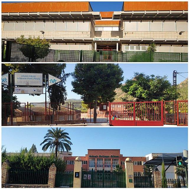 Saorín: La Concejalía de Servicios ha preparado los colegios para el inicio del nuevo curso - 1, Foto 1