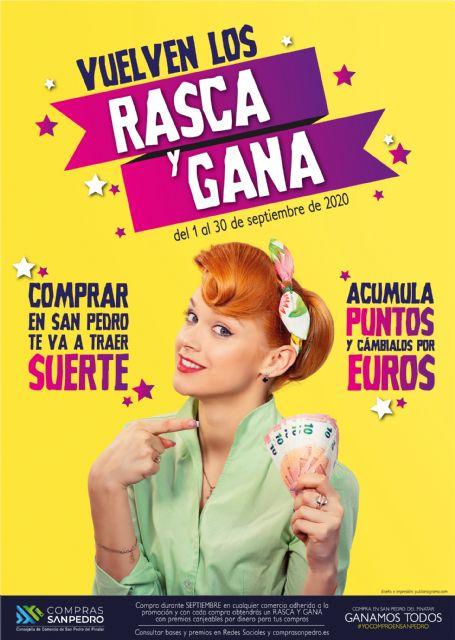 Rasca y Gana de San Pedro del Pinatar, más de 3.000 euros en premios - 3, Foto 3